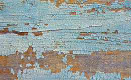Abstract background. board with the peeled-off paint Stock Image