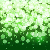 Abstract background boke. Green blurred background with boke royalty free illustration