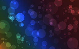 Abstract background - bokeh. Abstract illustration background with city colorful night lights Royalty Free Stock Photos
