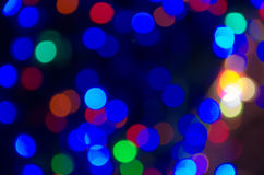 Abstract background of bokeh Stock Photo