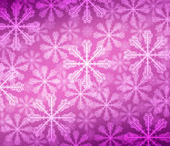 Abstract background with bokeh. Bright snowflake . Royalty Free Stock Photo