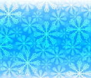 Abstract background with bokeh. Bright   snowflake . Stock Photos