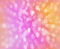 Abstract background with bokeh. Color background Royalty Free Stock Photography