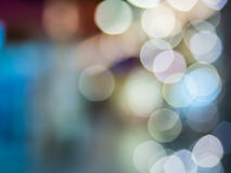Abstract background with bokeh defocused Royalty Free Stock Images