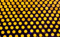Abstract background with bokeh defocused lights Royalty Free Stock Image