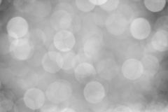 Abstract background with bokeh defocused lights. Royalty Free Stock Image
