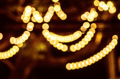 Abstract background with bokeh defocused lights - image of defocused lights on the tree Stock Photos
