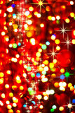 Abstract background with bokeh defocused lights Royalty Free Stock Photography
