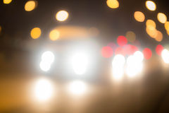 Abstract background with bokeh defocused lights and shadow Royalty Free Stock Image