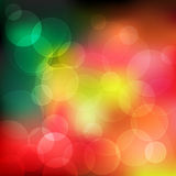 Abstract background bokeh effect Stock Images