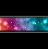 Abstract background with bokeh effect. Abstract background with bokeh light effect royalty free illustration