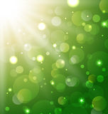 Abstract background with bokeh effect Stock Photos