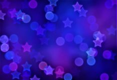 Abstract background, bokeh effect, festive decoration Royalty Free Stock Photos