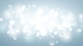 Abstract background with bokeh effect in light blue Stock Photography