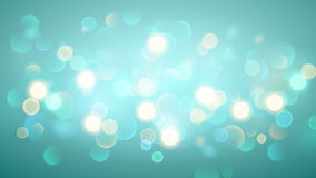 Abstract background with bokeh effect in light blue. Abstract background with bokeh effect. Blurred defocused lights in light blue colors vector illustration