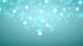 Abstract background with bokeh effect in light blue. Abstract background with bokeh effect. Blurred defocused lights in light blue colors royalty free illustration