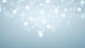 Abstract background with bokeh effect in light blue Royalty Free Stock Images
