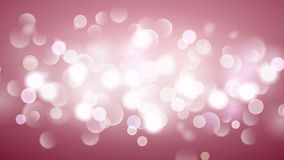 Abstract background with bokeh effect in pink Royalty Free Stock Images