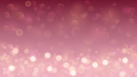 Abstract background with bokeh effect in pink Stock Photography