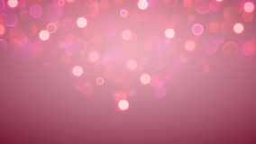 Abstract background with bokeh effect in pink Stock Image