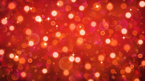 Abstract background with bokeh effect in red Royalty Free Stock Images