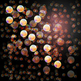 Abstract background. Bokeh effect Stock Photography