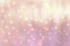 Abstract background with bokeh effect. Vector delicate backdrop. Gentle image blur. Subtle defocused wallpaper. Soft. Gradient. Pink Royalty Free Stock Images