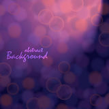 Abstract background with bokeh effect Stock Images