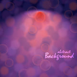 Abstract background with bokeh effect Royalty Free Stock Photos