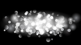 Abstract background with bokeh effect in white Royalty Free Stock Photo