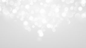 Abstract background with bokeh effect in white Royalty Free Stock Images