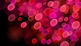 Abstract bokeh background. Abstract background with bokeh effects in red colors stock illustration
