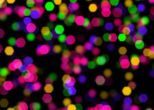 Abstract background with bokeh. Elegant abstract background with bokeh defocused lights Stock Images