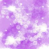 Abstract background with bokeh royalty free illustration