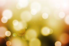 Abstract  background with bokeh and lens flare Royalty Free Stock Images