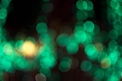 Abstract background bokeh of lighting. Royalty Free Stock Image