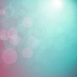 Abstract background with bokeh lights. Blue elegant festive abstract background with bokeh lights effect EPS 10 royalty free illustration