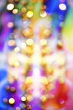 Abstract background with bokeh lights Royalty Free Stock Images