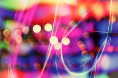 Abstract background with bokeh lights Royalty Free Stock Image