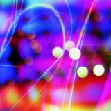 Abstract background with bokeh lights Royalty Free Stock Photos