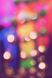 Abstract background with bokeh lights Stock Image