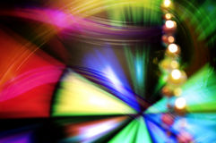 Abstract background with bokeh lights Stock Photos
