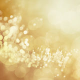 Abstract background with bokeh lights Stock Photography