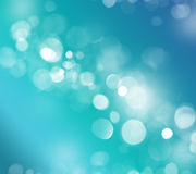 Abstract background with bokeh lights. Light blue bokeh background made from white lights Royalty Free Stock Photos