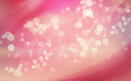 Abstract background with bokeh lights Royalty Free Stock Photo