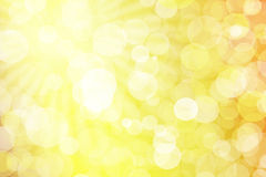 Abstract background with bokeh lights Stock Images