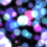 Abstract background with bokeh. Seamless abstract background with bokeh defocused lights royalty free illustration