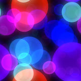 Abstract background with bokeh Royalty Free Stock Photo