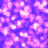 Abstract background with bokeh. Seamless abstract background with bokeh defocused lights Royalty Free Stock Images