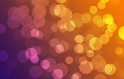 Abstract background with bokeh and variety color Stock Image